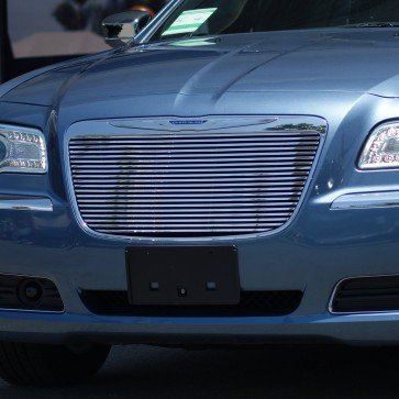 2011-2012 Chrysler 300 High Density Main Grille-Overlay (Polished)