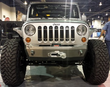 2007 2015 Jeep Wrangler Jk Stainless Black A Ii Grille