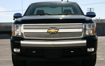 2007-2013 CHEVROLET SILVERADO 1500 High Density Billet-Main Grille-Overlay !
