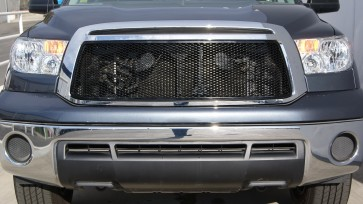 2010-2011 TOYOTA TUNDRA Framed Diamond Cut Sport Mesh-Main Grille-Insert (Chrome)