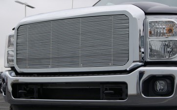 2011 FORD SUPERDUTY F250/F350 High Density Billet-Main Grille-Insert (Chrome)