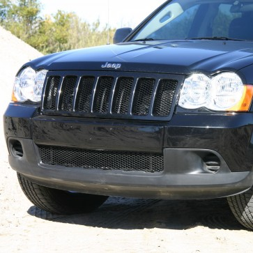 2008-2010 Jeep Grand Cherokee-Diamond Cut Mesh-Bumper Grille-Insert
