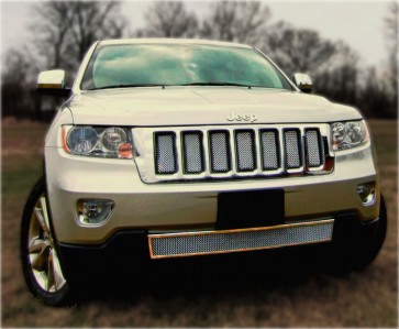 Ablaze Grilles 2011-2013 Jeep Grand Cherokee Chrome Grille