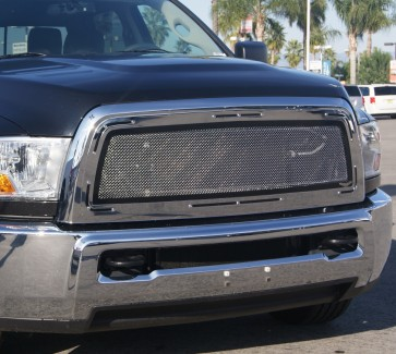2010-2012 Dodge RAM 2500  Special Edition Torque Style Grille-Insert (chrome)