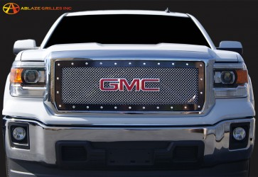 GMC Sierra 1500 Large Wire Mesh Grille