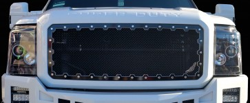 2011-2015 Ford Super Duty Machined Brute Super Duty Grille