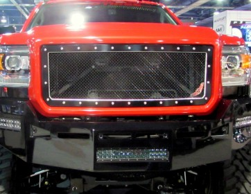 2015-2018 GMC Sierra HD 2500/3500 A-I MACHINED Grille Insert