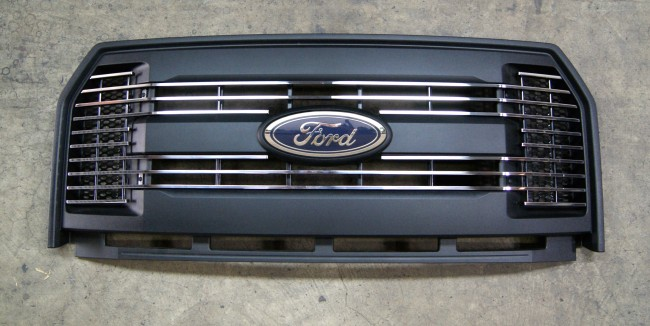 2015 ford f150 billet grille (black) grilles done the right way