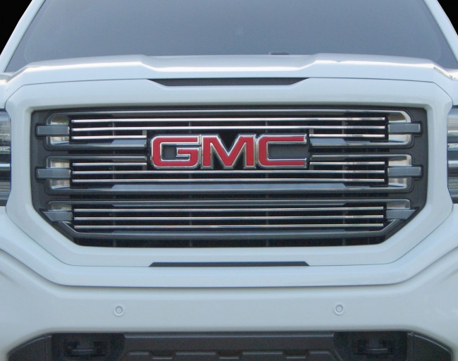 2016 2017 gmc sierra 1500 3pc billet grille grilles done. Black Bedroom Furniture Sets. Home Design Ideas