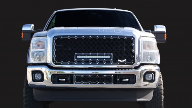 Ford F150 Accessories Catalog >> 2011-2015 Ford Super Duty Machined Brute Super Duty Grill Grilles done The Right way