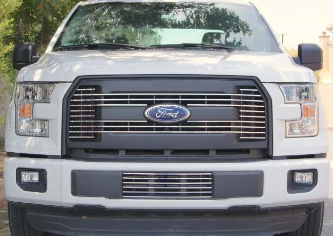 2015 Ford F150 Grill >> 2015 2016 Ford F150 Billet Grille