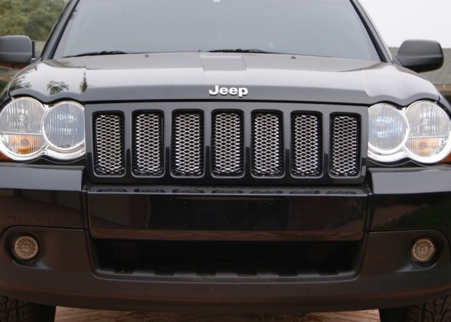 Jeep Grand Cherokee Chromed Diamond Cut Mesh Main Grille