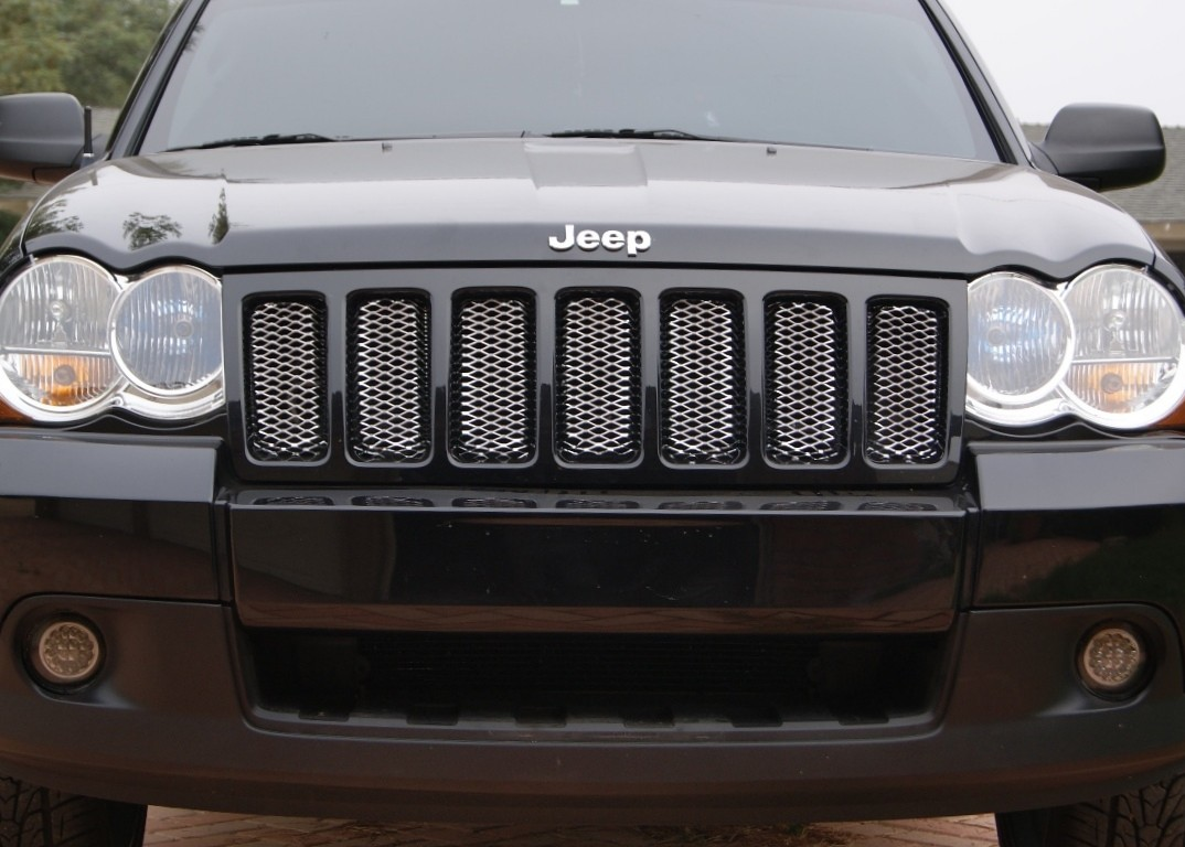 jeep grand cherokee chrome mesh grill inserts for 2011 autos post. Black Bedroom Furniture Sets. Home Design Ideas