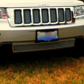 2011 Jeep Grand Cherokee Chrome Grille