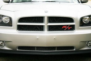 2006-2010 DODGE CHARGER (Except SRT8) Diamond Cut Mesh-Main Grille-Insert-(Black)