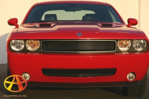 2009-2011 DODGE CHALLENGER SE/RT/SRT8 diamond cut -Hood Scoops 2pc