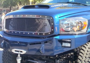 2008-2009 Dodge Ram HD 2500/3500 A-II Double Framed Grille