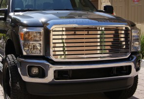 2011 FORD SUPERDUTY F250/F350 Black Market Billet-Main Grille-Insert (Chrome)