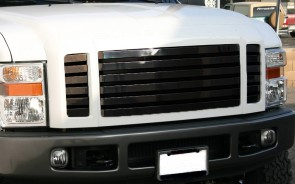 Black Market Billet-3pc Main Grille-Insert (Black)