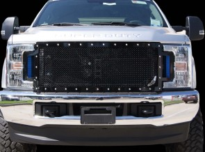 ABLAZE GRILLES INC. 2017+ Ford Super Duty, A-I Full Replacement