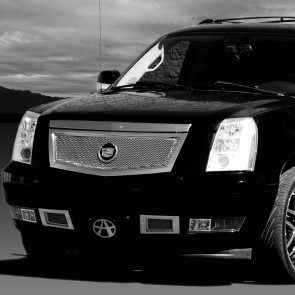 2007-2011 Cadillac Escalade Special Edition Boxed Mesh Grille-Chrome