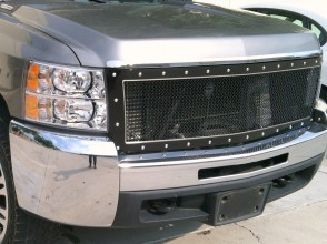 2007-2010 Chevrolet Silverado HD 2500/3500  A-II  Full Replacement Grille