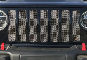 Ablaze Grilles Inc. 2018 Jeep Wrangler JL wire mesh grille insert
