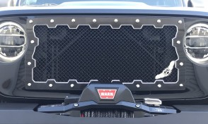 2018 Jeep Wrangler JL, Brute Machined Grille Insert -Ablaze Grilles
