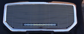 2016-2017 GMC Sierra 1500 billet grille with light bar