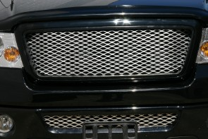 2004-2008 FORD F150 Framed Diamond Cut Mesh-Main Grille-Insert