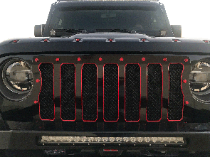 2018 Jeep Wrangler JL, A7 Grille Insert