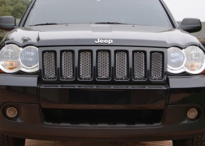 2005-2010 Jeep Grand Cherokee-Chromed Diamond Cut Mesh-Main Grille