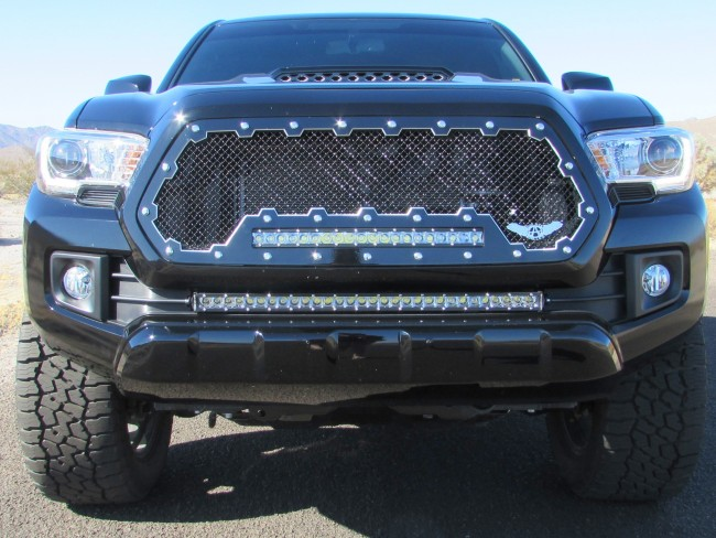 2016 2017 Toyota Tacoma Brute Machined Grilles Done The
