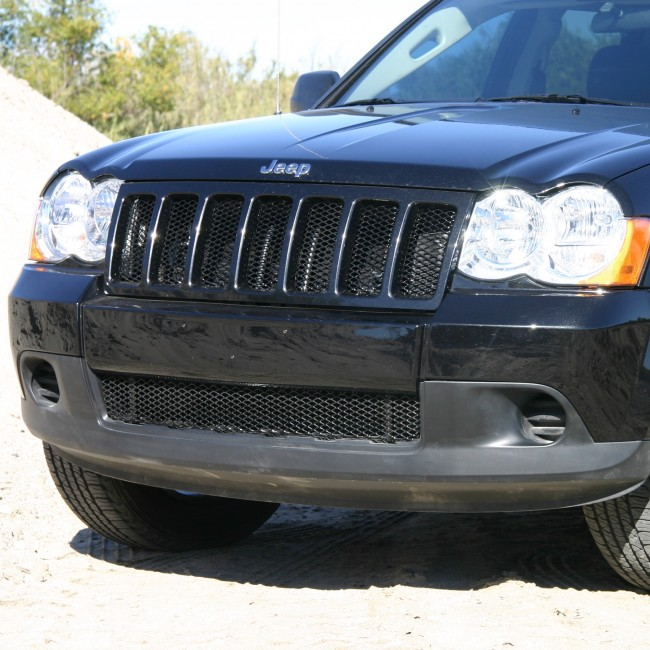 2005 2010 Jeep Grand Cherokee Diamond Cut Mesh Bumper