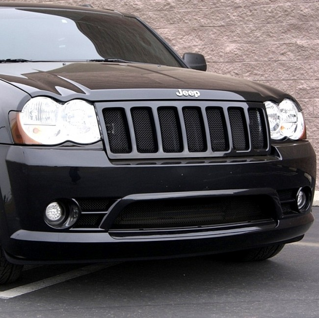 Jeep Grand Cherokee Srt8 Wire Mesh Grille Upper And Lower