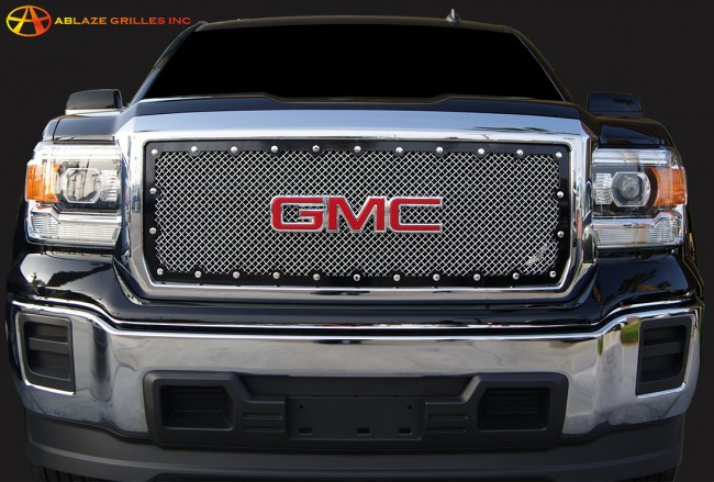 2014 GMC Sierra 1500 BRUTE Wire Mesh Grille-Insert Grilles ...